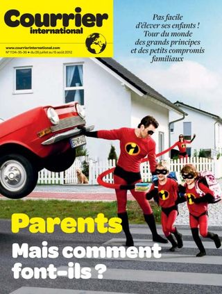 Photo SuperParents (Courrier International)
